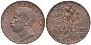 Víctor Manuel III - 10 centesimi 1911