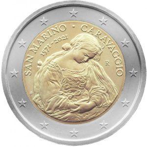 2 euros 2021 San Marino