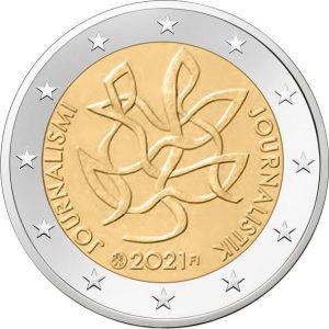 2 euros 2021 Finlandia