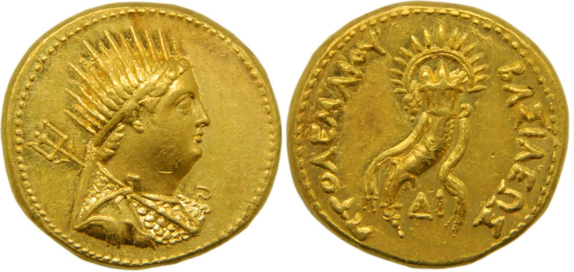 Octodracma de Ptolomeo IV