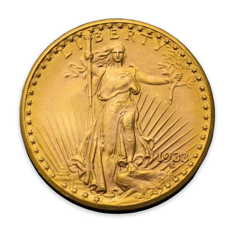 20 dólares 1933
