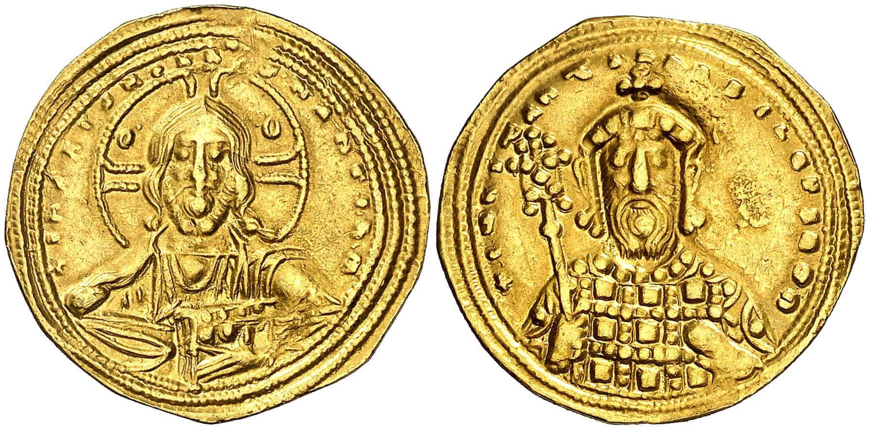 Histamenon de Constantino VIII