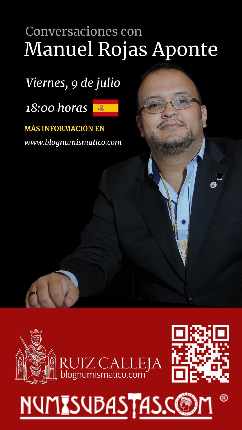 Charlamos con Manuel Rojas el viernes 9