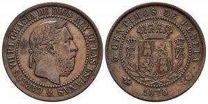 5 centimos Carlos VII