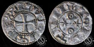 Dinero Alfonso VI Toledo, tipo I