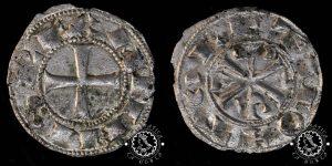 Dinero Alfonso VI Toledo, tipo II
