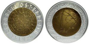 25 euros niobio 2006. Navegación por satélite
