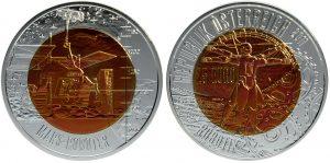 25 euros niobio 2011. Robótica