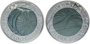 25 euros niobio 2013. Tuneladora