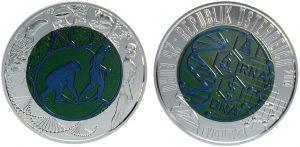 25 euros niobio 2014. Evolución