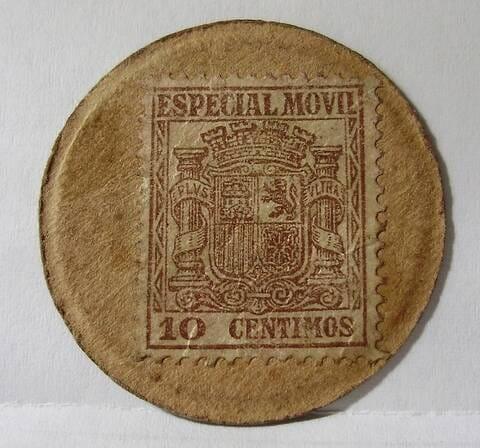 sello moneda autentico