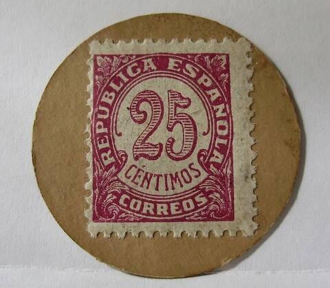 sello moneda falso