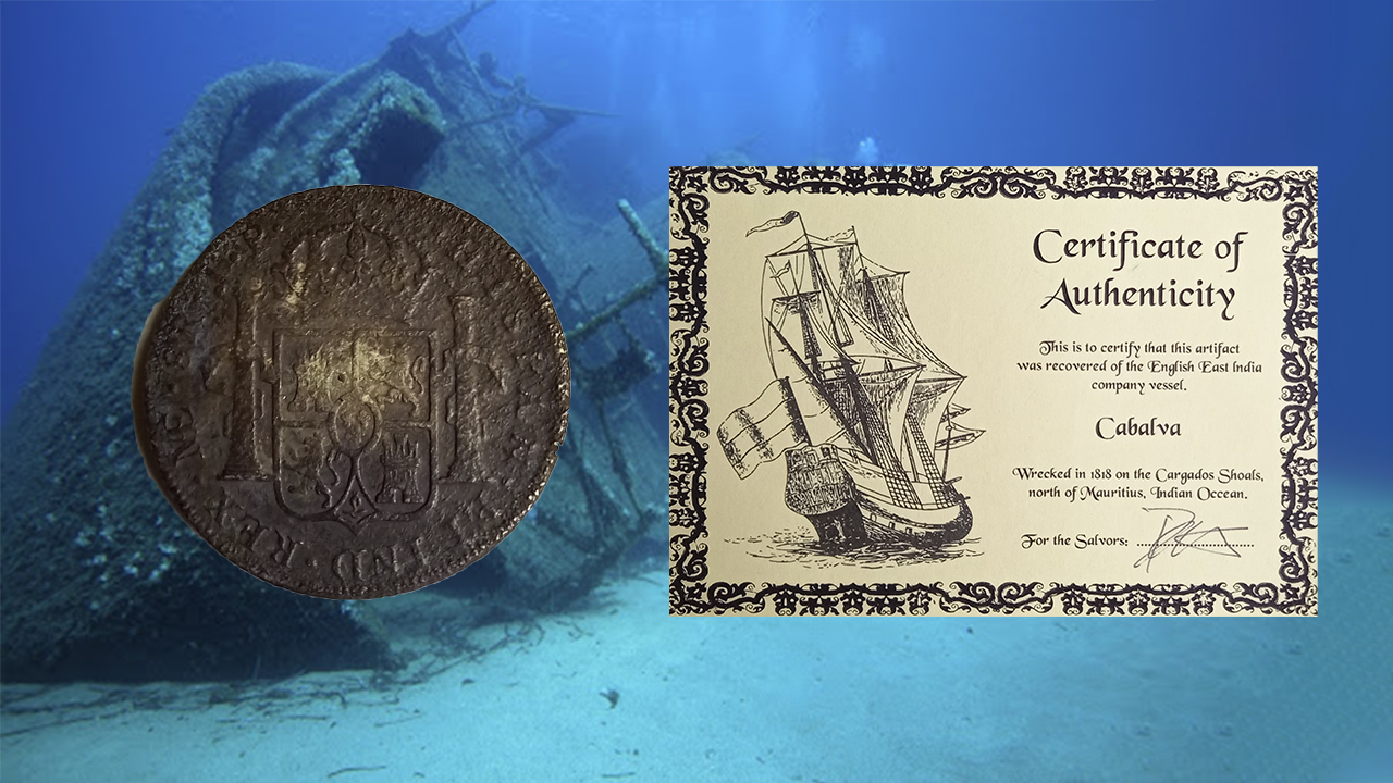 moneda naufragada